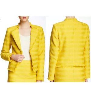 Trina Turk Evie Yellow Jacket Blazer